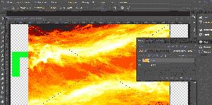 как сделать текст цвета картинки